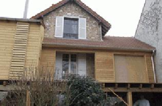 Construire en bois agrandir sa maison for Agrandissement maison meuliere
